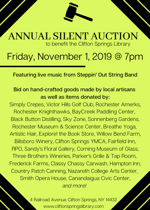 Silent Auction Mailer with Vendors pic