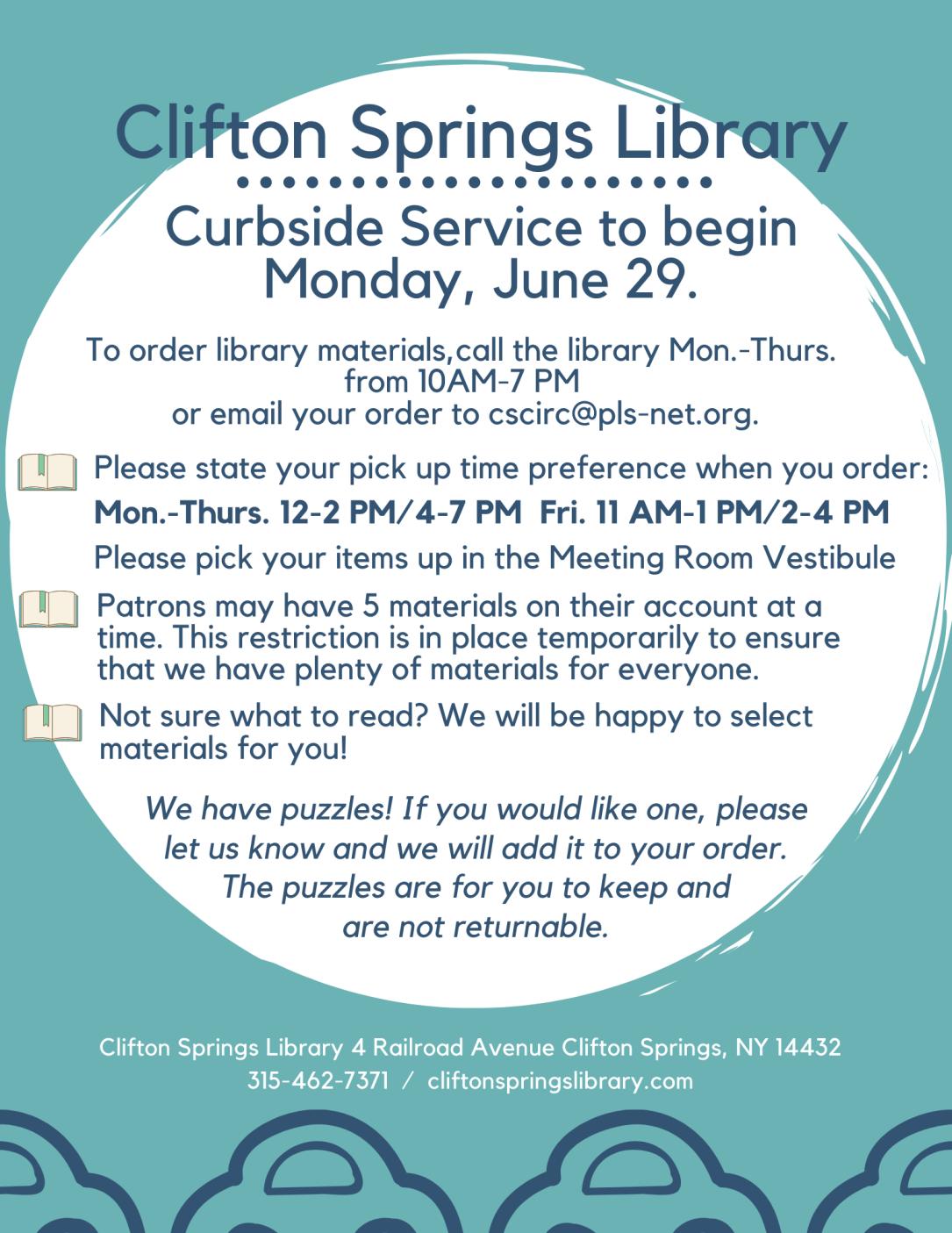 Curbside pickup Flyer edited June 26